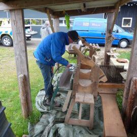 Het handgereedschap heeft een anti-houtwormbehandeling gekregen!